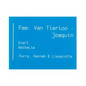 Tina Plexi Graveren Webshop Mechelen Sloten en Sleutels naamplaat huisnummer
